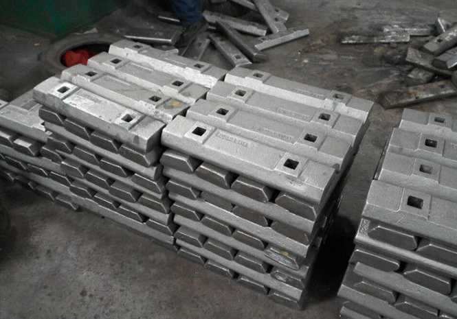 High Abrasion Cr-Mo Alloy Steel Mill Liners Wedge Bars for Centre Shell Liners / End Liners