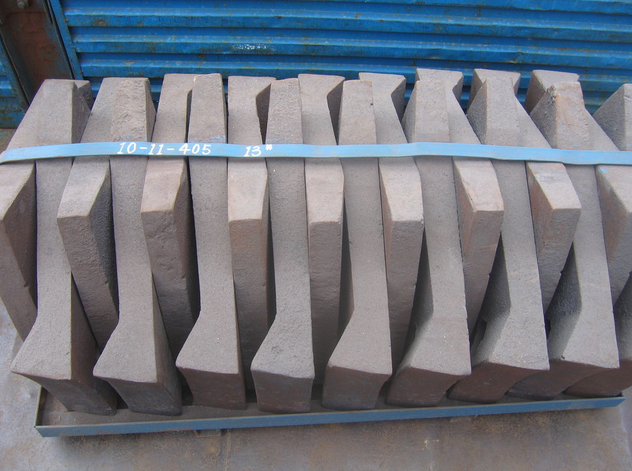 Dia3.8m Cement Mill Wear Resistant Casting Cr-Mo Alloy Steel Liner Segment more than HRC50