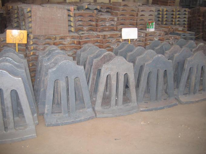 Retention Ring Cement Mill Liners for Diameter 3.8 x 13m after Dimensional Check