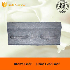 China Pearlitic Chrome Molybdenum Sag Mill Liners Impact Value AK 60J supplier