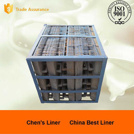 China Cr15Mo3 320 / 580 Grinding Ball Steel Mill Liners Abrasion Resistance supplier