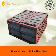 China High Toughness Ni Hard Liners , Steel Mine Mill Liner Freed Head Long Service Life supplier