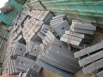 China High Abrasion High Cr Cast Iron Combined Self-fastened Mill Linings For Coal Mills supplier
