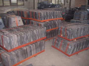 China Cr-Mo Steel Liners for Coal Mills Hardness More than HRC48  Applied in Grinding Feldspar supplier