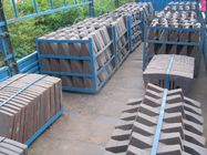 China Steel Sand Castings With More Than AK49J Toughness And HRC50 Hardness For Coal Mill factory