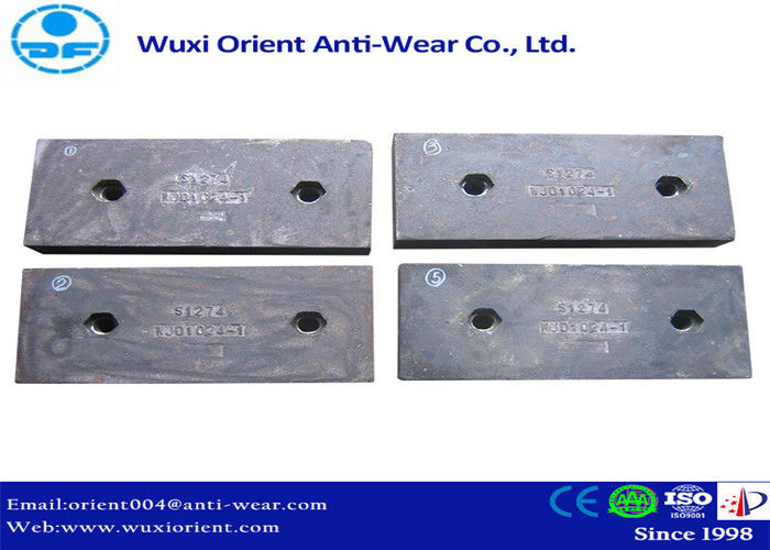 Wear resistant Ni-hard Cast Iron Liners used in Cement Mills