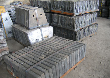 High Impact Value Well Abrasion Performance Cement Mill Steel Mill Liners With Low Cr Alloy