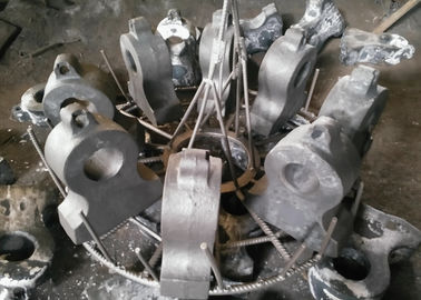 Steel Jaw Crusher Wear Parts / Hammers And Impact Plates For Impact Crushers