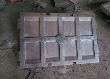 Manganese Steel , Cr - Mo Alloy Steel Crusher Wear Parts DF008