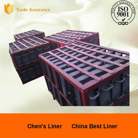 China Retension Ring Liners / Cement Mill Liner Plates Hardness HRC52 Coal-fired Power Plant factory