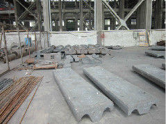 China High Cr-Mo Alloy Steel Casting For Cement Mill , Ball Mill Mining factory