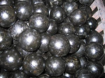 High Chromium Cast Steel Ball With Cylpebs HRC58-65 DF016 Ball Mill Balls