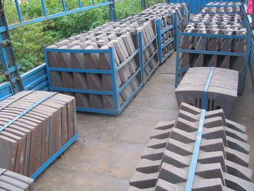 China Steel Sand Castings With More Than AK49J Toughness And HRC50 Hardness For Coal Mill company