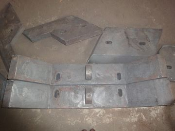 Sill Bar of High Chromium Cast Iron Chute Liners Made in China Hardness more than HRC50
